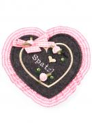 Trachten Geldtasche / Geldbeutel rosa